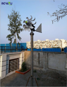 Revayu 400 Watt Street Light Wind Turbine