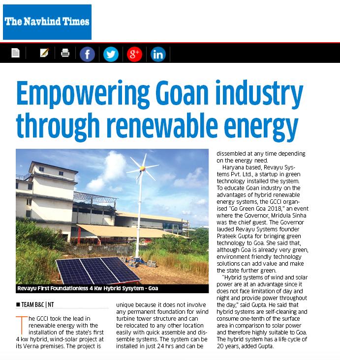 Goa news Article