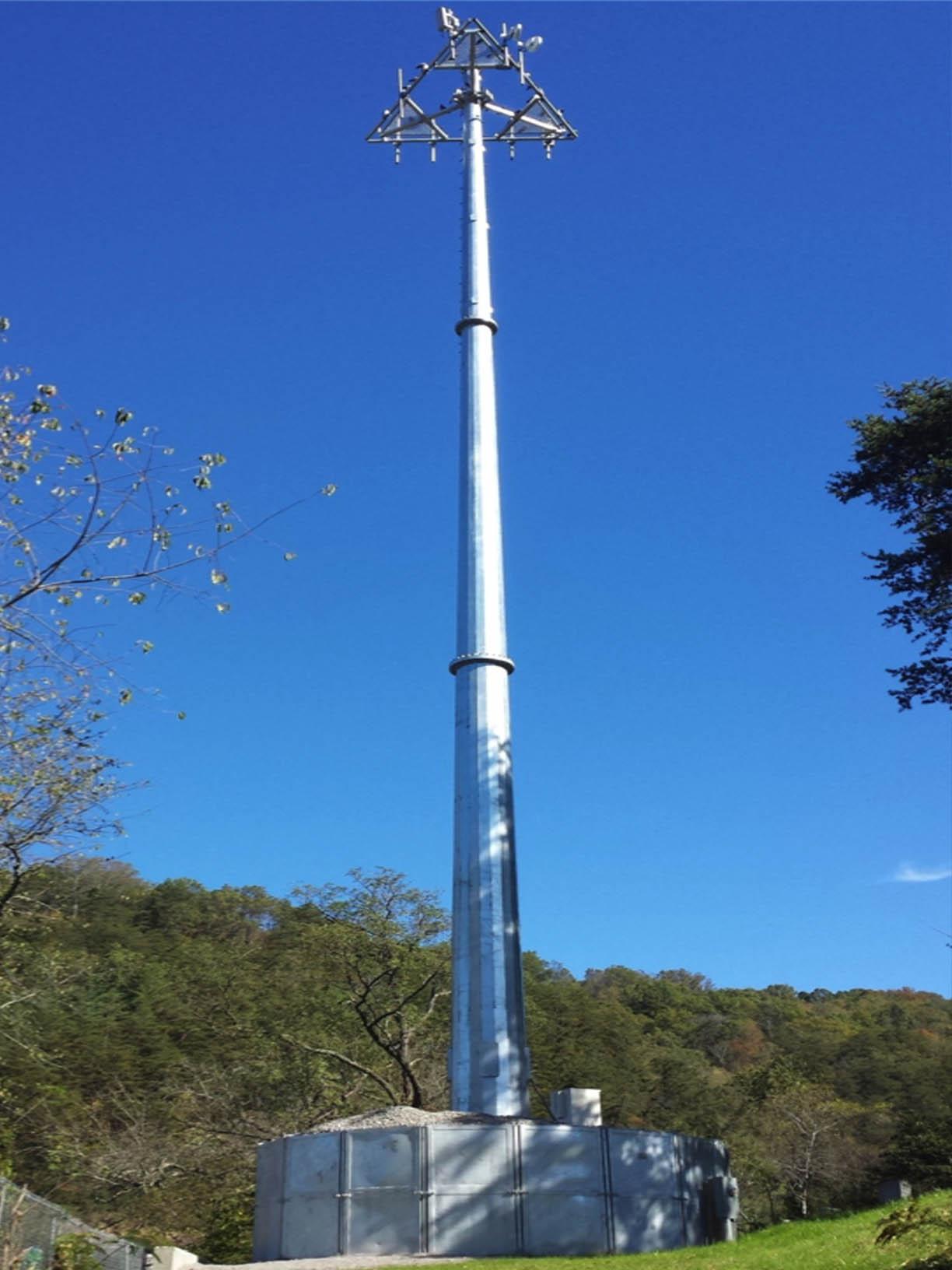 Foundationless Telecom Tower