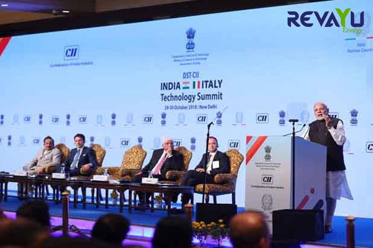 DST-CII, India-Italy Technology Summit 2018